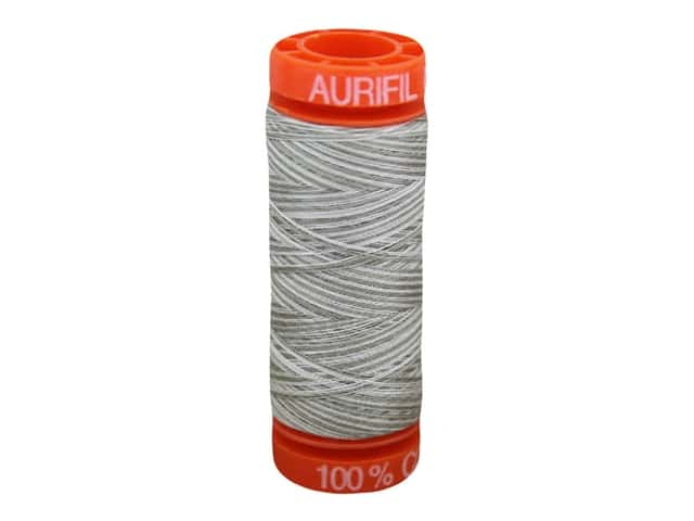 Aurifil Thread Cotton Mako 50 wt 200 M Varigated Silver Fox