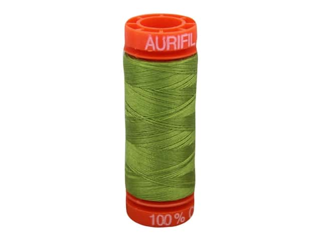 Aurifil Thread Cotton Mako 50 wt 200 M Olive Green