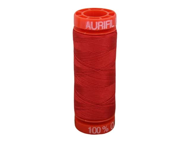 Aurifil Thread Cotton Mako 50 wt 200 M Lobster Red