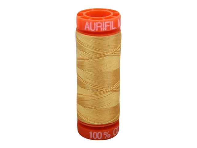 Aurifil Thread Cotton Mako 50 wt 200 M Golden Honey