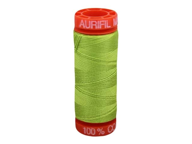 Aurifil Thread Cotton Mako 50 wt 200 M Spring Green