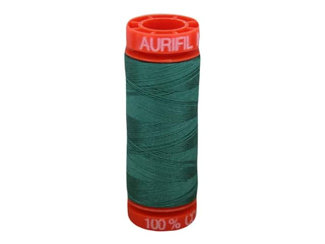 Aurifil Thread Cotton Mako 50 wt 200 M Turf Green