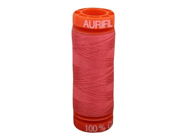 Aurifil Thread Cotton Mako 50 wt 200 M Medium Red