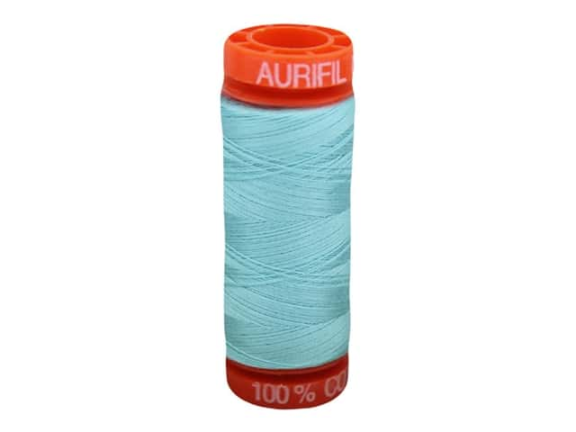 Aurifil Thread Cotton Mako 50 wt 200 M Light Turquoise