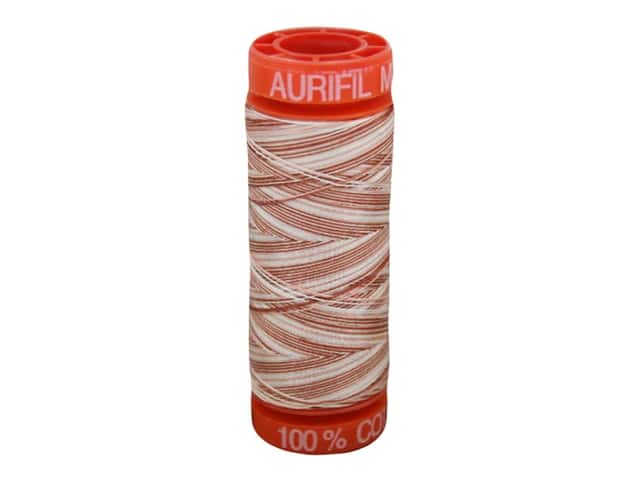 Aurifil Thread Cotton Mako 50 wt 200 M Variegated Cinnamon Sugar