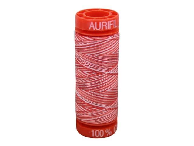 Aurifil Thread Cotton Mako 50 wt 200 M Variegated Strawberry Parfait
