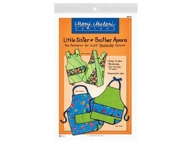 Mary Mulari Little Sister & Brother Apron Pattern
