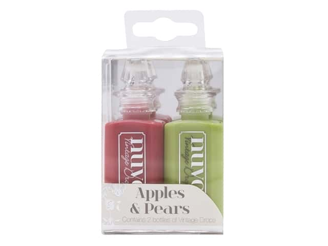 Nuvo 3D Drops Vintage Apples & Pears 2 pc