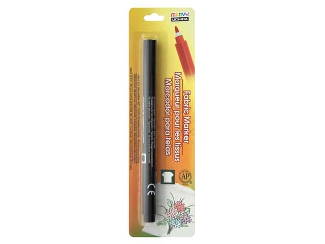 Marvy Uchida Fabric Marker Fine Tip Black
