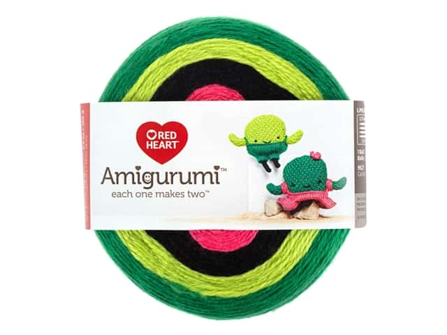 Red Heart Amigurumi Yarn 239 yd. Cactus