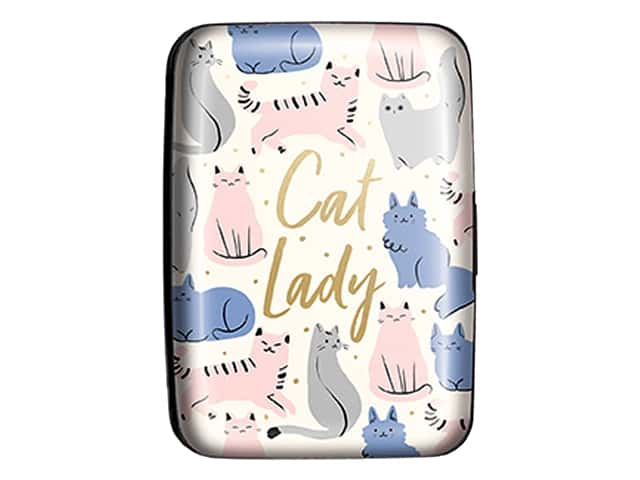 Lady Jayne Credit Card Case Sketched Cats