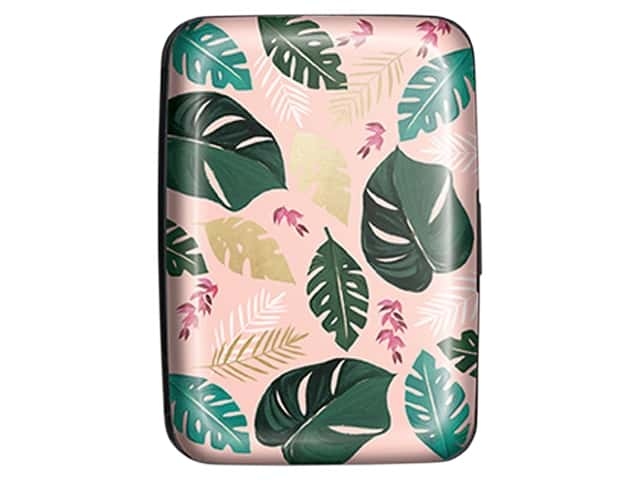 Lady Jayne Credit Card Case Mixed Fronds