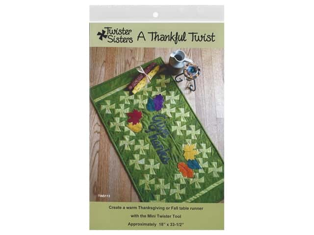Twister Sisters A Thankful Twist Pattern