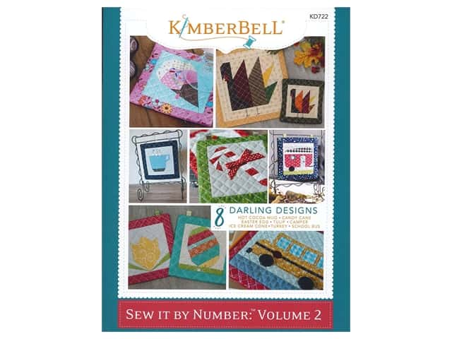Kimberbell Designs Sew It By Number Volume 2 Book