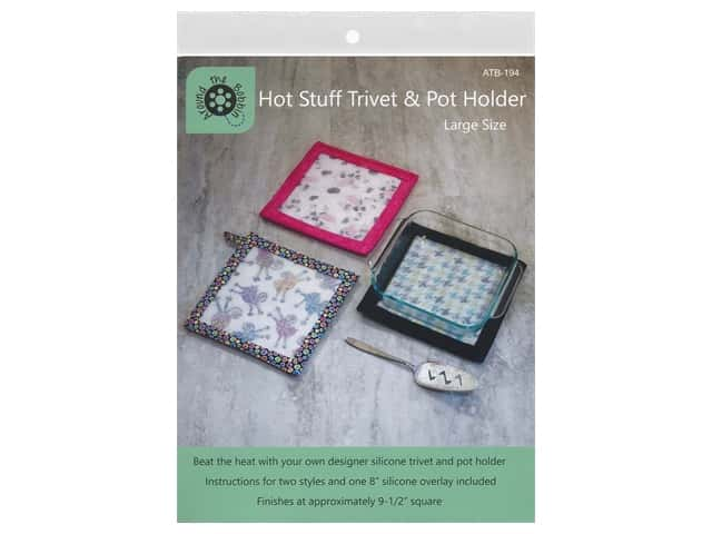 Around The Bobbin Hot Stuff Trivet & Pot Holder Large Pattern