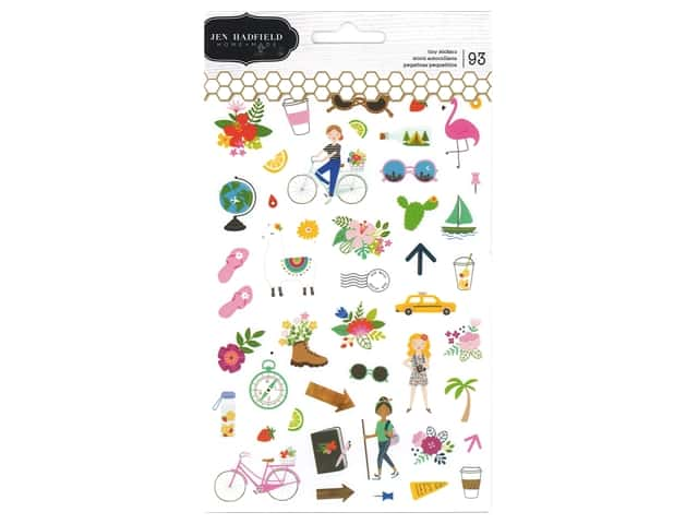 Pebbles Collection Jen Hadfield Chasing Adventures Sticker Tiny Icon