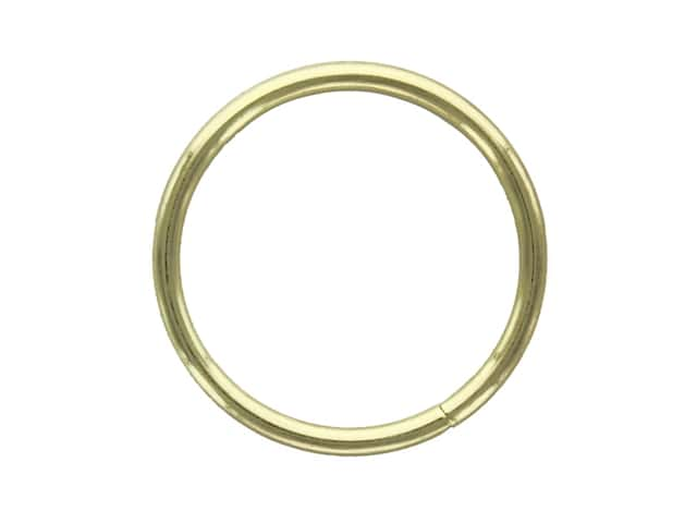 Darice Metal Ring 1.5 in. Gold