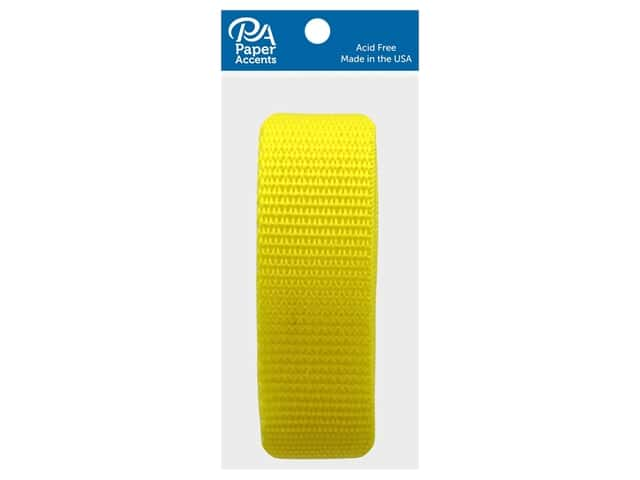 PA Essentials Polypropylene Webbing 1 x 36 in. Yellow