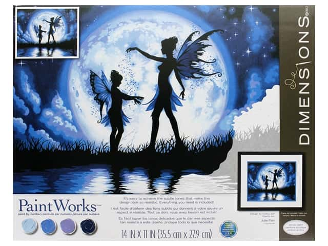 Paintworks Paint By Number Kit 14 x 11 in. Twilight Silhouette