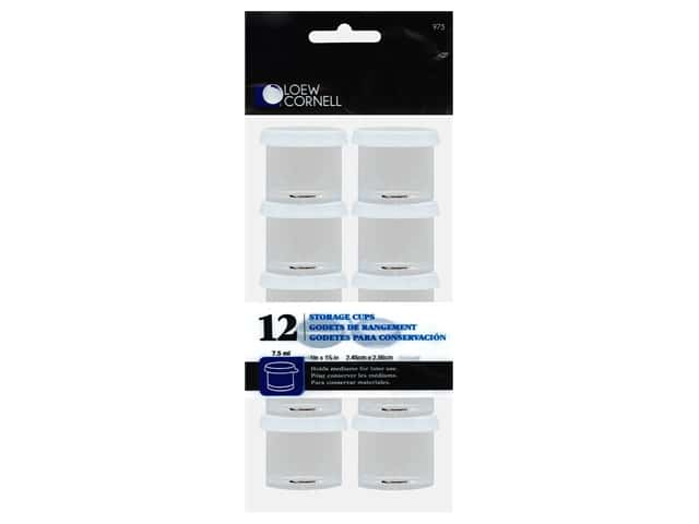Loew Cornell 1 in. Storage Cups 12 pc.