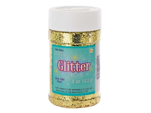 Sulyn Glitter 4 oz. Gold