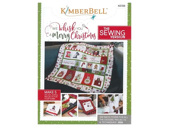 Kimberbell Designs We Whisk You A Merry Christmas Sewing Book