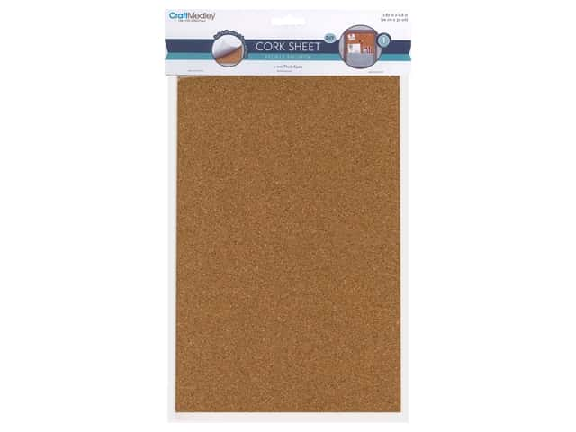 Multicraft Tools Cork Sheet Self-Stick 20 x 30 cm