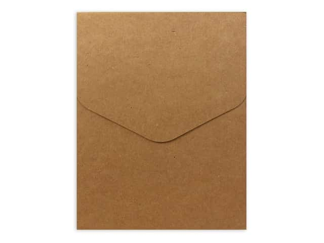 Sierra Pacific Crafts Notepad 80 Sheet with Magnet Snap Kraft