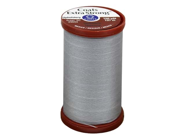 Coats Extra Strong Upholstery Nylon Thread 150 yd. Nugrey
