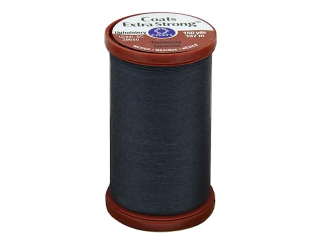 Coats Extra Strong Upholstery Nylon Thread 150 yd. Navy