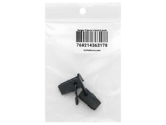 Ackfeld Fabric Clips with Hook 2 pc.