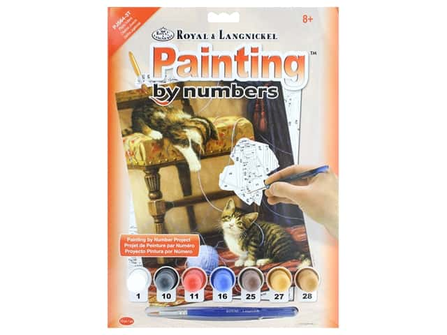 Royal Paint By Number Junior Small Playful Kittens