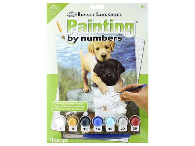 Royal Paint By Number Junior Small Fishin' Buddies