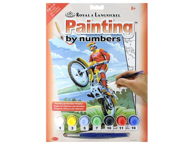 Royal Paint By Number Junior Small Motocross