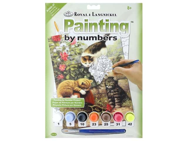 Royal Paint By Number Junior Small Kittens At Play