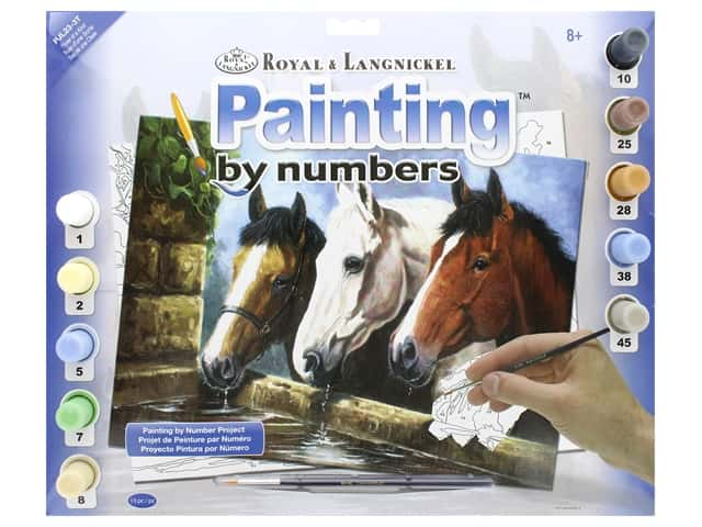 Royal Paint By Number Junior Large Three Of a Kind