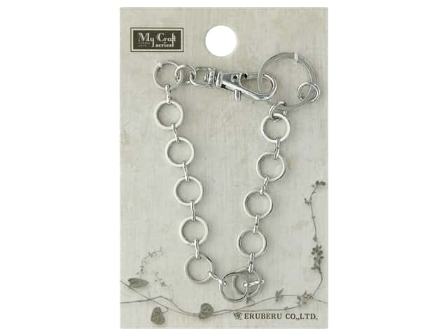Resinate Bag Charm Chain Large Silver