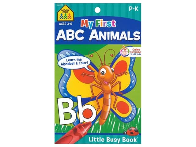 Little Busy Book My First ABC Animal Coloring Book