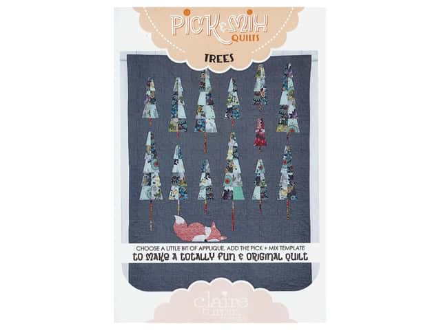 Claire Turpin Design Pick & Mix Quilts Template & Foxies & Trees Pattern