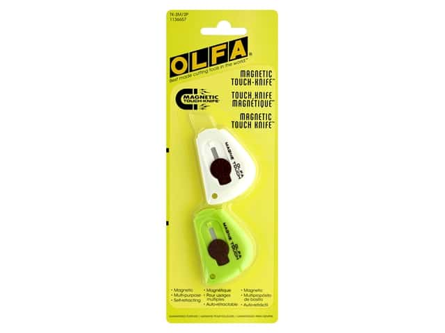Olfa Magnetic Touch Knife 2 pc