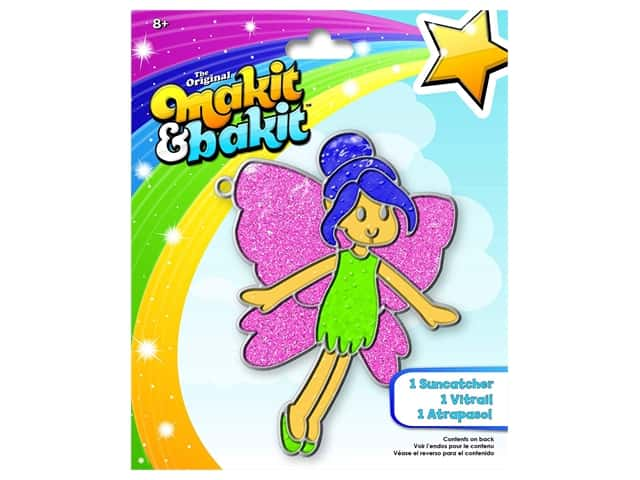 Colorbok Makit & Bakit Suncatcher Kit - Fairy
