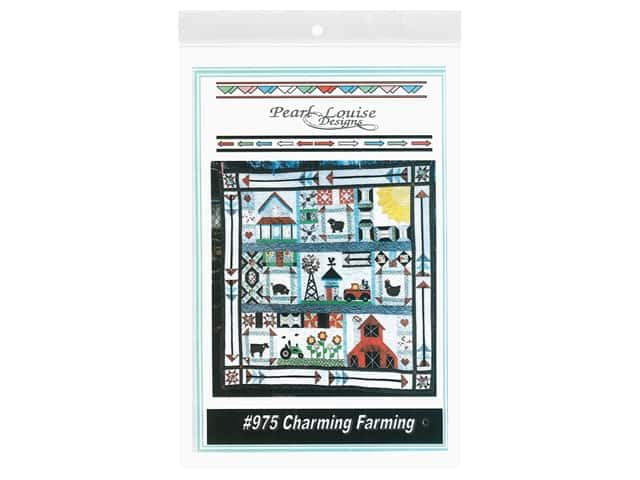 Pearl Louise Designs Charming Farming Block Of The Month Pattern