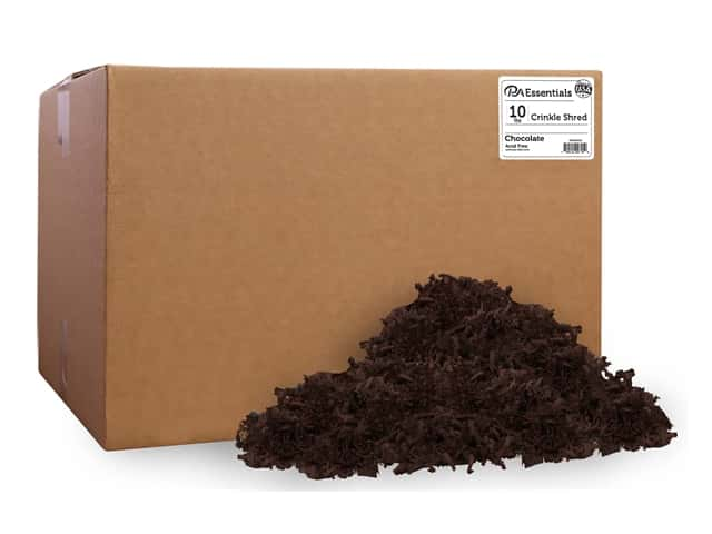 PA Essentials Crinkle Shred 10 lb. Chocolate