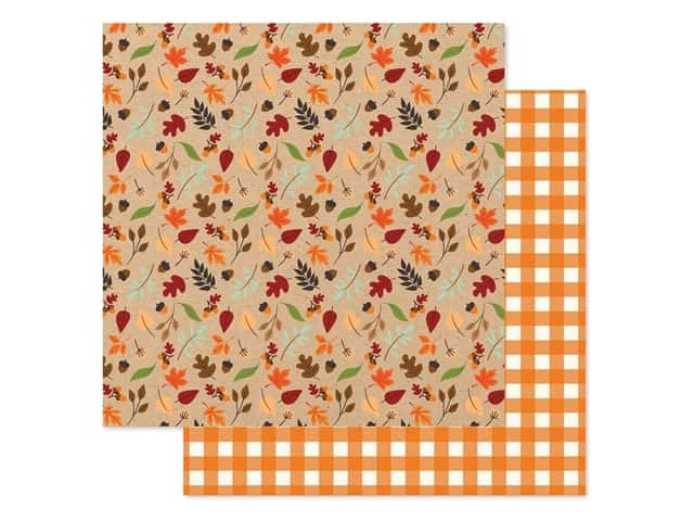 """Echo Park Collection My Favorite Fall Paper 12""""x 12"""" Fall Breeze"""