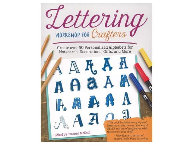 Design Originals Lettering Workshop For Crafters Book
