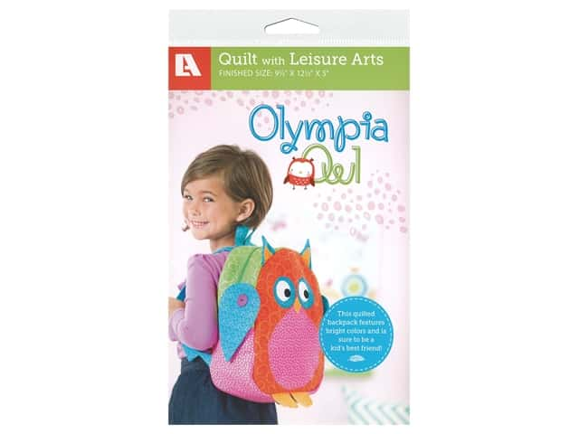 Leisure Arts Olympia Owl Backpack Pattern