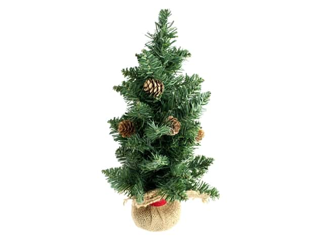 Darice Christmas Tree 15 in. With Pinecones