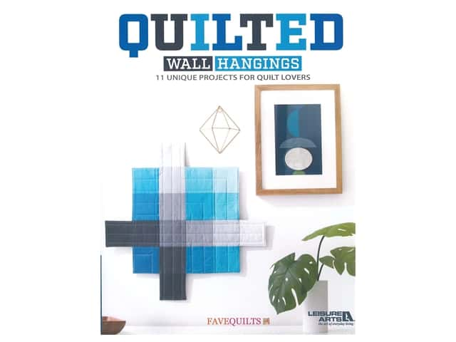 Leisure Arts Quilted Wall Hangings Book