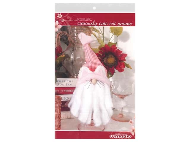 McKay Manor Musers Curiously Cute Cat Gnome Pattern