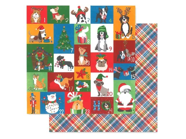 Photo Play 12 x 12 in. Paper Muttcracker Countdown